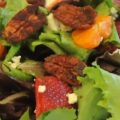 Strawberries….Custard Pie, Berry Shake & Baby Blue Salad (And The BEST Vinaigrette)