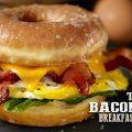 Bacon Doughnut Breakfast Sandwich – Seriously Decadent